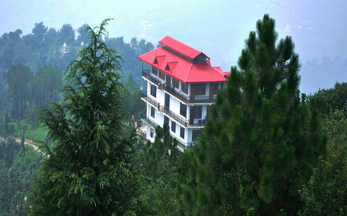 A view of Kushala Valley View in Shogi in Himachal
