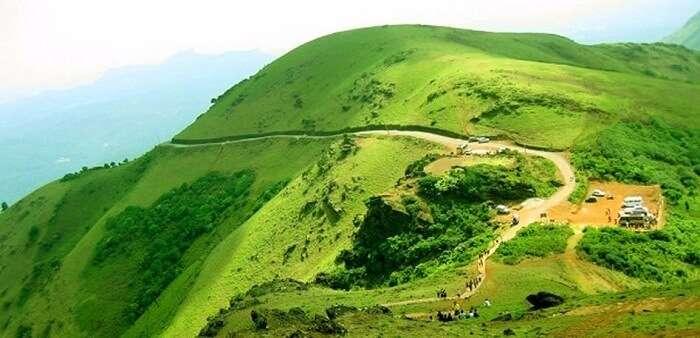 Baba Budangiri Trek In Chikmangalur