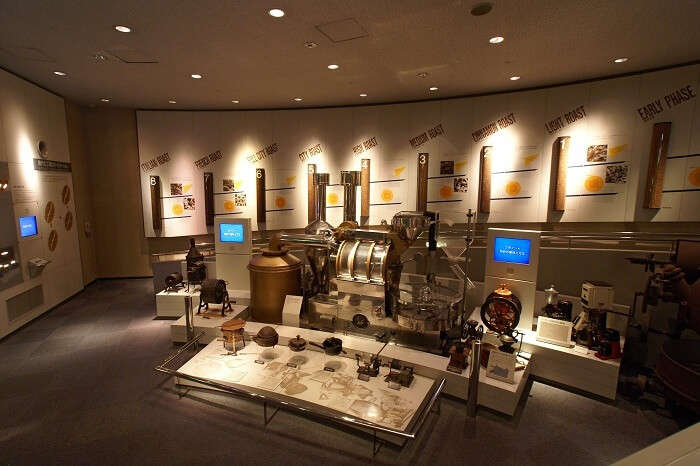 Interior of Coffee Museum Chikmangalur