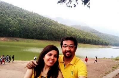 Couple on Romantic Kerala Tour
