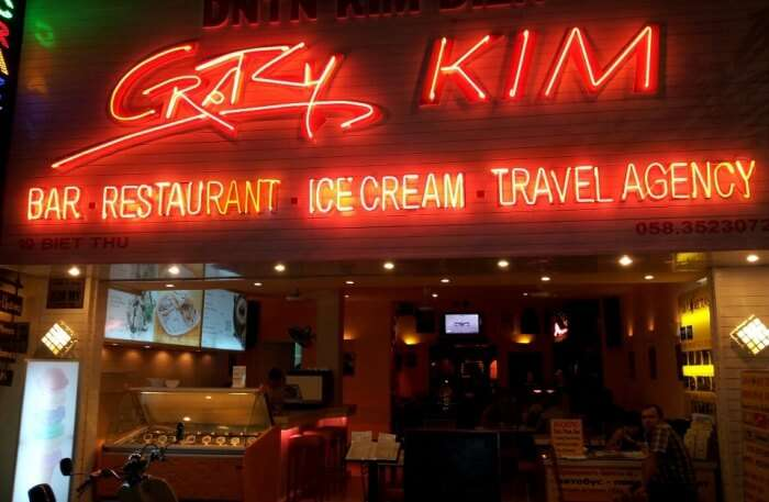 Crazy Kim Bar Restaurant
