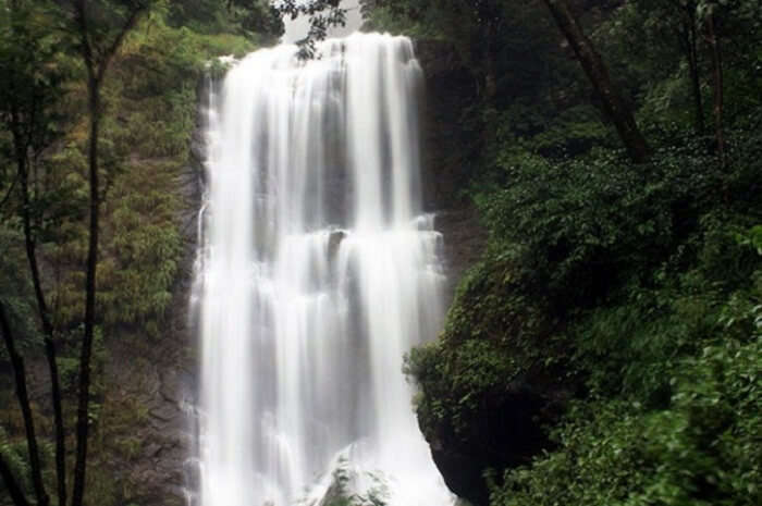Hebbe Falls In Chikmagalur