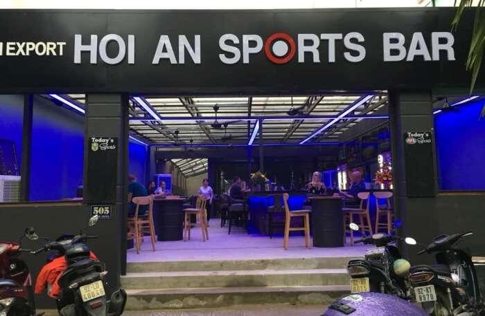 Hoi An Sports Bar View