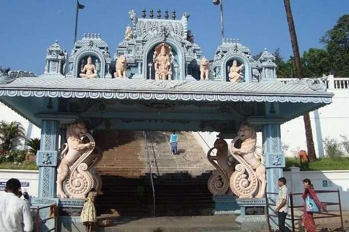 Entry of Horanadu Annapoorneshwari Temple