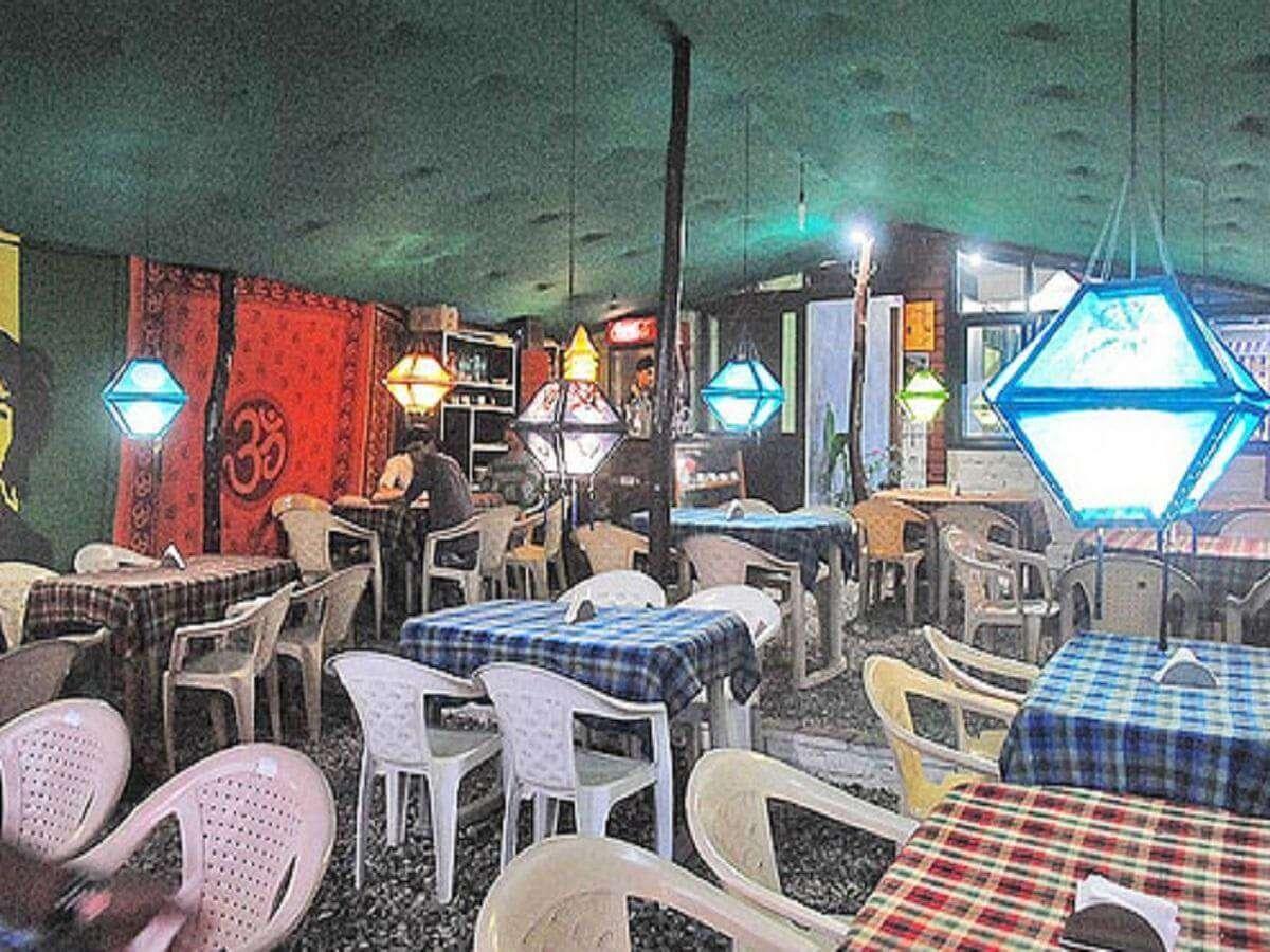 restaurant of a hotel in Dharmshala