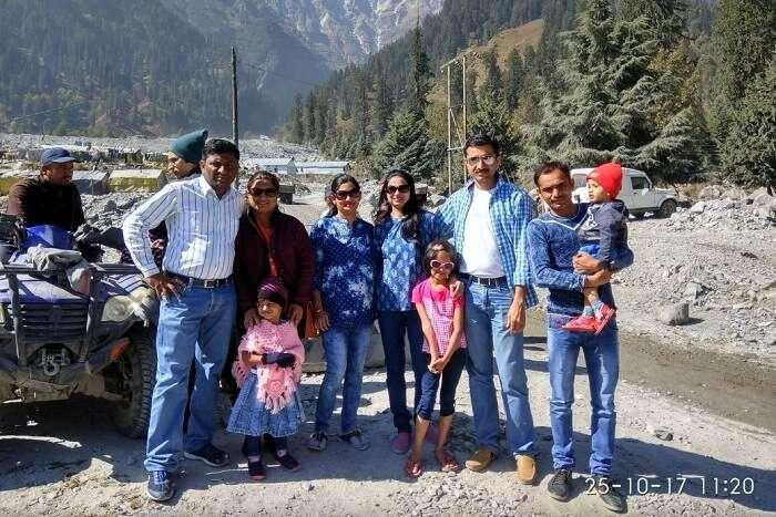 family trip to shimla