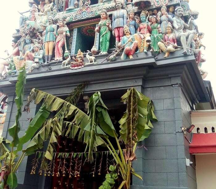 hindu temple in Singapore