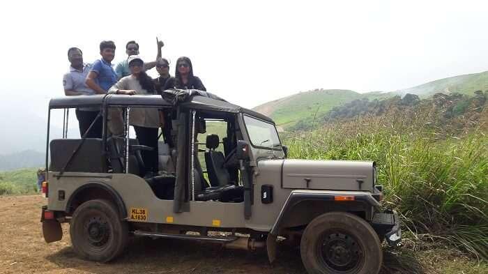 Jungle Safari in Thekkady