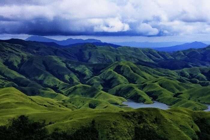 Kudremukh Range In Chikmagalur