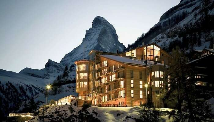 The Omnia switzerland exterior
