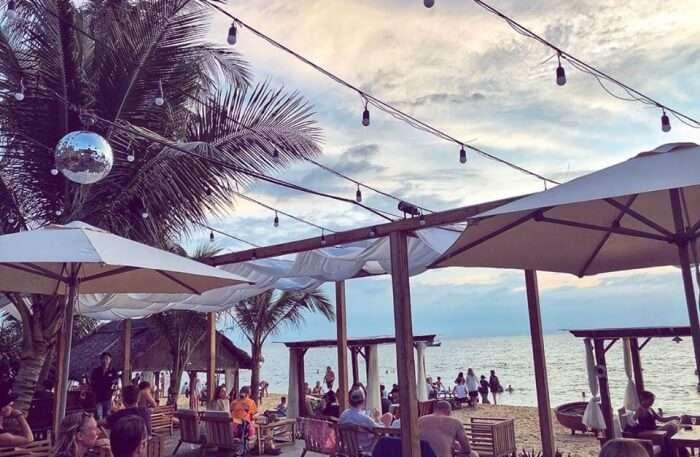 Sunset Bar In Vietnam