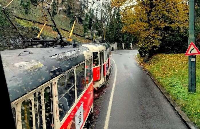 Tram Prague