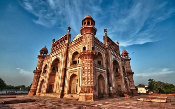 A view of Safdarjung Tomb in Delhi
