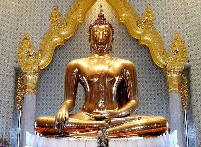 bangkok golden buddha