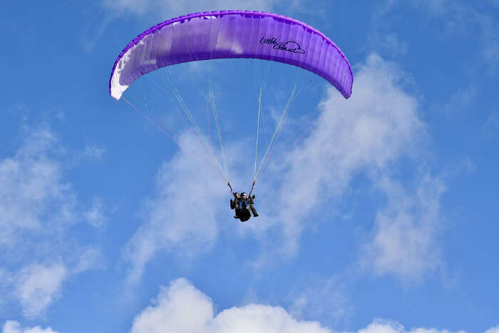 Adventurous Paragliding In Naukuchiatal