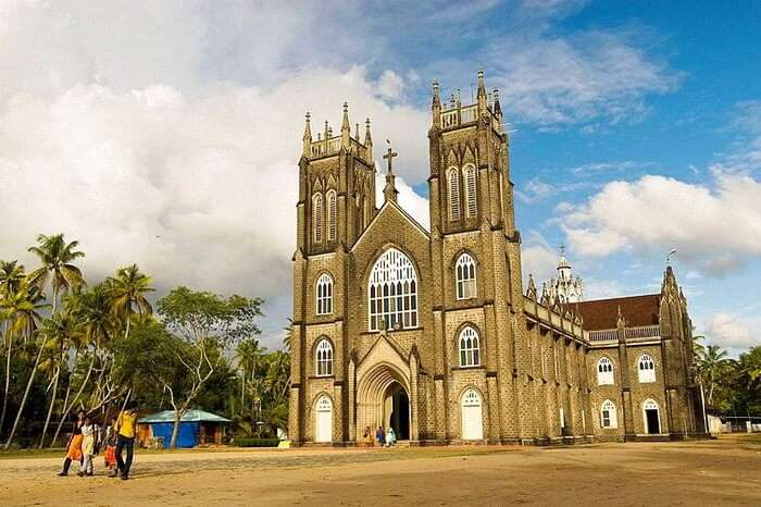 a church in Kerala