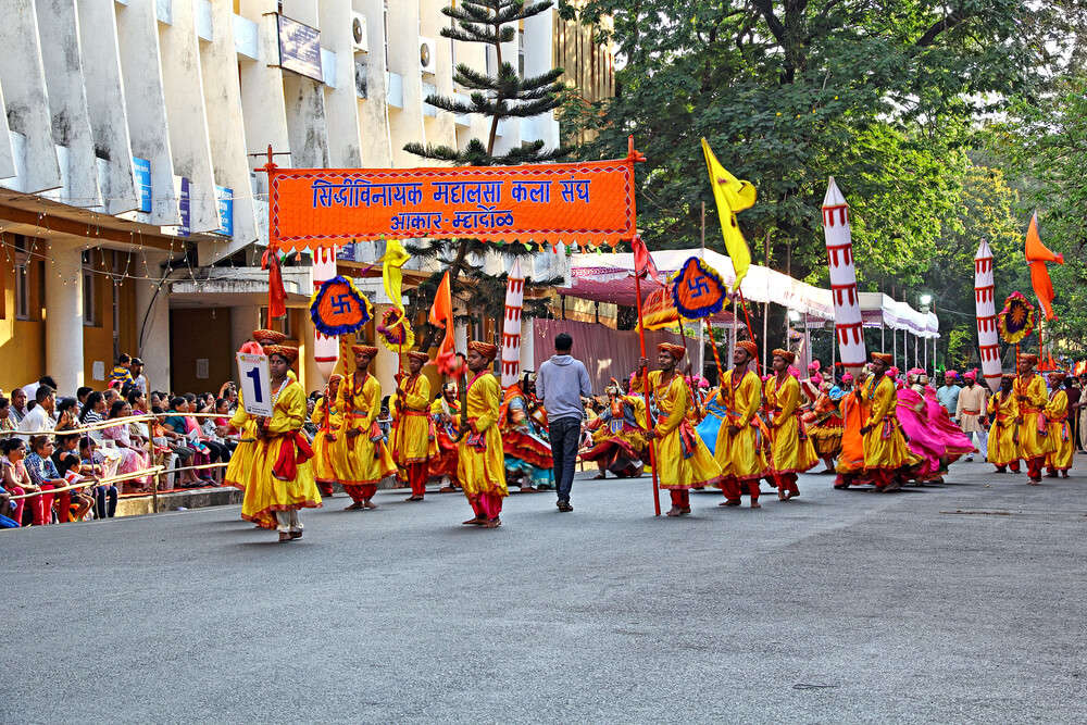 people of Goa enjoying Shigmo festival