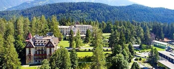 Waldhaus Flims hotel in Switzerland