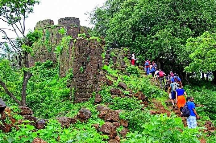 forgotten ruins in goa