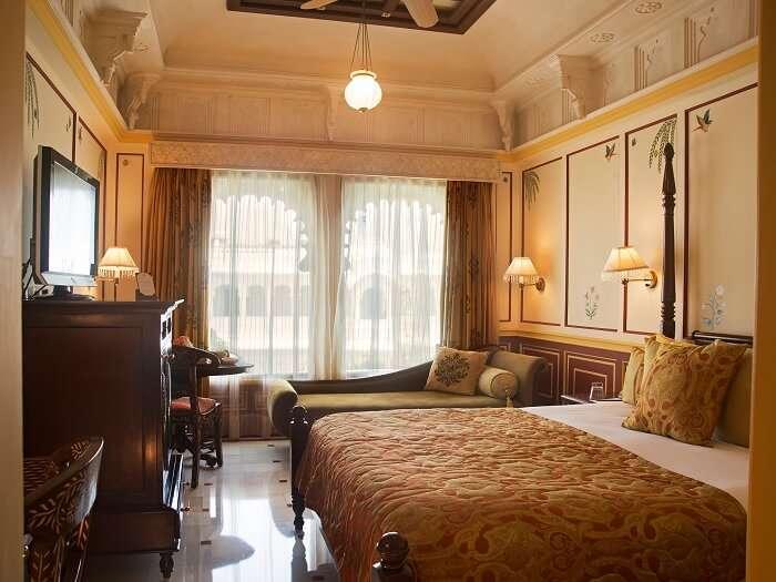 Luxury Rooms at Taj Lake Palace