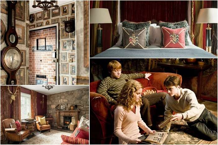 Canongate Harry Potter Apartment cover image collage