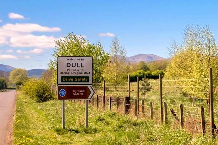 visit the city of Dull