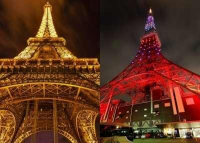 Eiffel Tower vs Tokyo Tower
