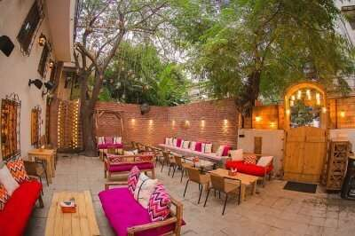 dine at Nukkad, one of the best cafes in delhi