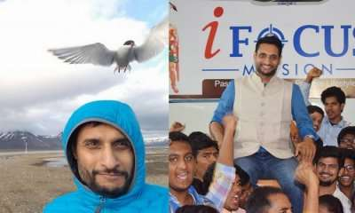 Raja Karthikeya To Be 1st Indian To Traverse North & South Pole cover