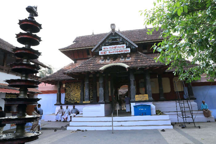 an old style temple