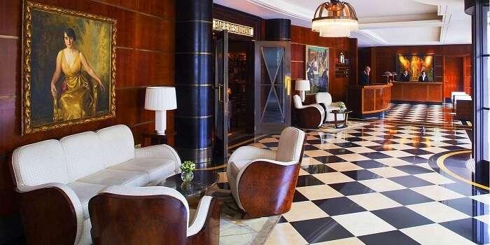beaumont hotel lobby london