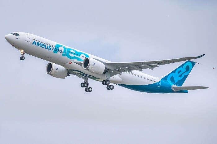 airbus flying
