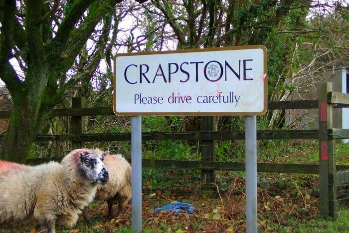 visit the town of crapstone