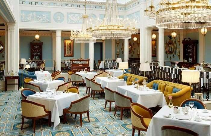 lanesborough restaurant london