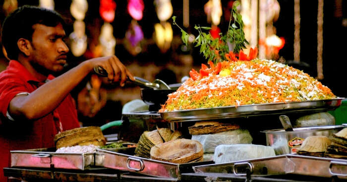 street foods in India