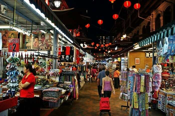 Shopping Experience Singapore