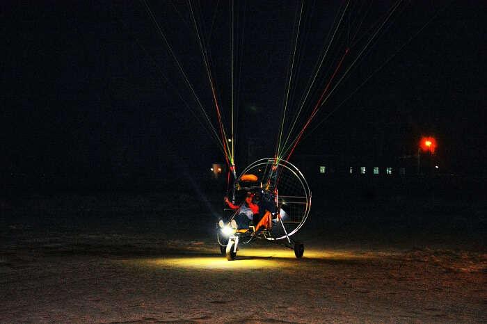 Paramotoring at Kutch