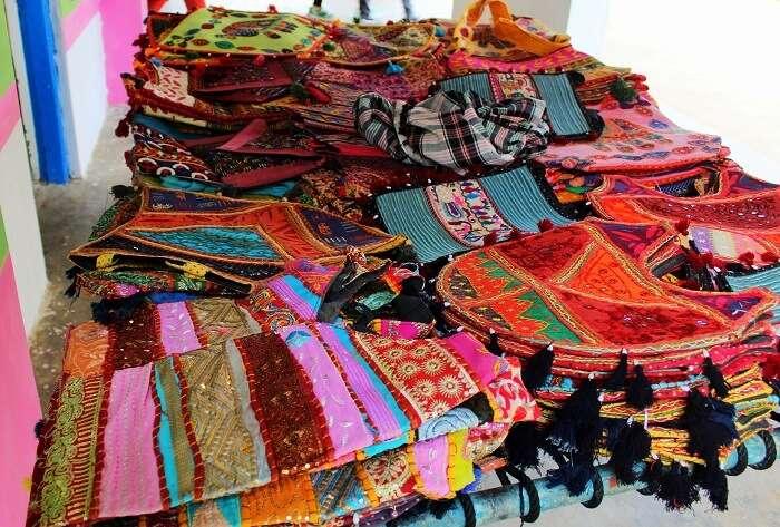 Shopping at Bhuj Market