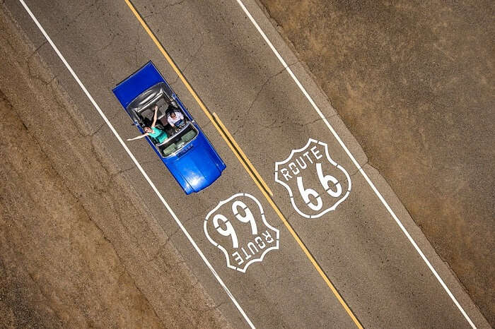 CRUISING THE ROUTE 66