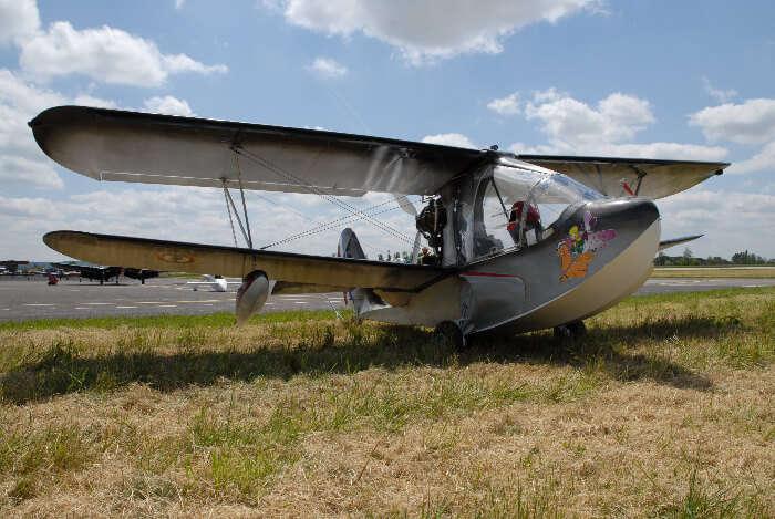 a light airplane