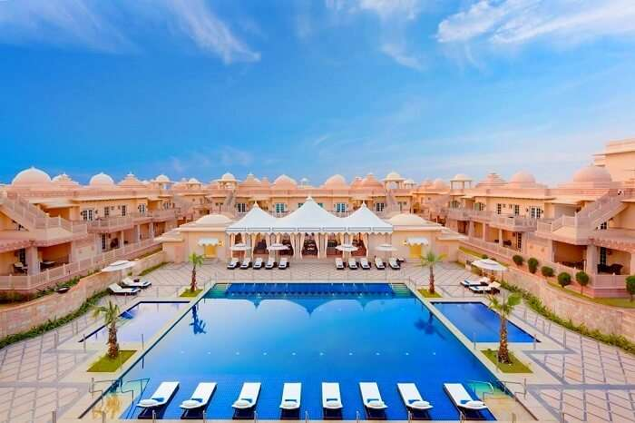 Full view of ITC Grand Bharat Gurgaon