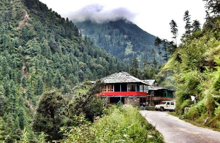 Tirthan Valley View