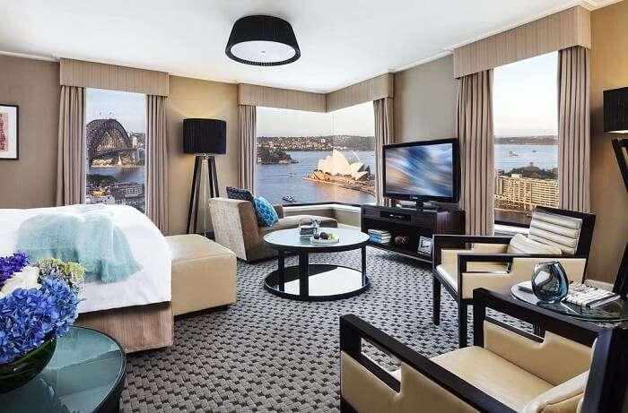 room view of four seasons sydney