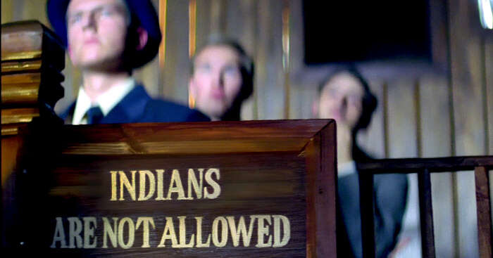 Indians not allowed board