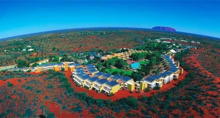 Sails in the Desert hotel australia