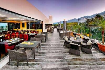 the terrace restaurant in Dehradun