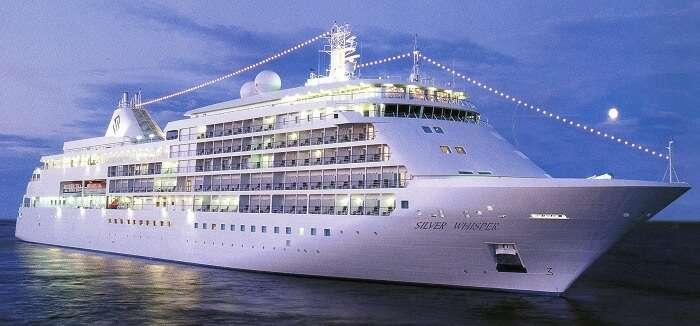 silver whisper world cruise