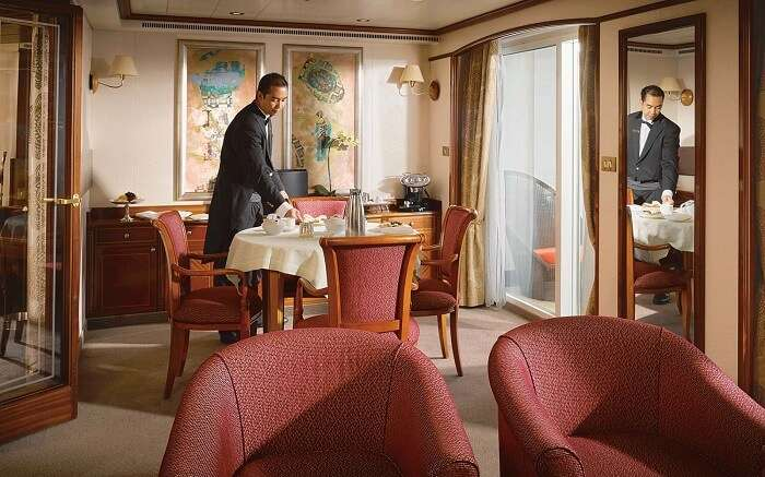 silver whisper cruise suite