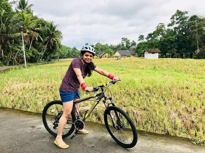 Cycling tour in Bali