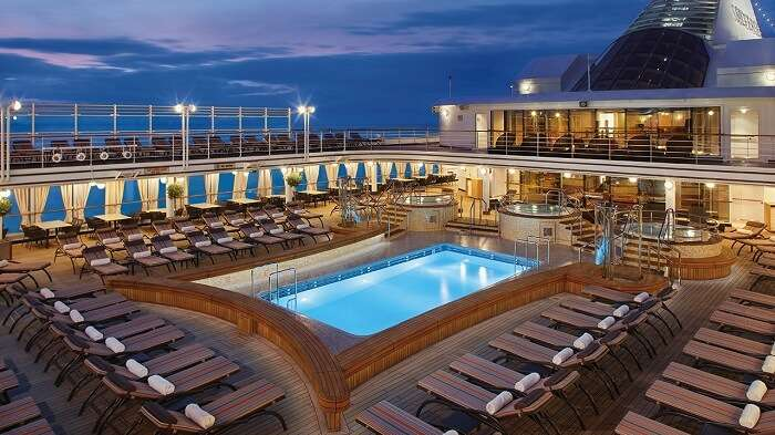 deck of silver whisper cruise